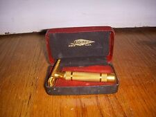 Vintage Gillette Safety Razor In Case