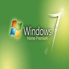 ORIGINAL WINDOWS 7 HOME PREMIUM 32/64- BIT OEM GENUINE LICENSE KEY SCRAP PC