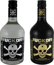 Fuckoff vodka Duo (2x 0,7 l) | vodka pure and vodka Black | vodka | fiesta