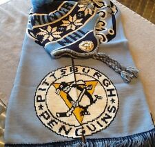 NHL Pittsburgh Penguins 2011 Winter Classic Scarf And Knit Cap Set NWT