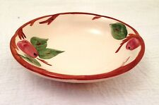 """Vtg FRANCISCAN Ware England 5"""" Berry Fruit Side Bowls APPLE Pottery Dishes"""
