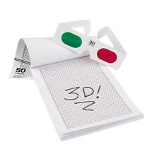3D Stereographic Drawing Pad Special Edition - With 3D Glasses