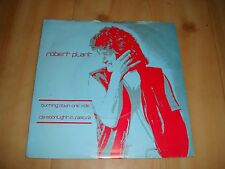 """ROBERT PLANT-BURNING DOWN ONE SIDE (SWAN SONG 7"""") LED ZEP"""