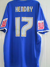 Will Hendry Squad Signed Match Worn Millwall 2006-07 Home Football Shirt /40461