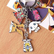 Digital Monster Digimon Adventure Cosplay Metal Keychain Keyring Charm