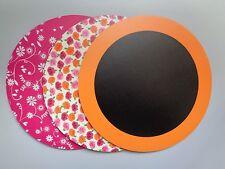 Lot de 3 Tapis de Souris Forme Circulaire - Neuf