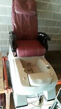 Used Timeless Full Function Massage Pedicure Spa Chair / Nail Salon