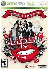 Lips: Number One Hits (Microsoft Xbox 360, 2009)   EN/FR