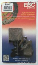 Ducati Monster 600 / 620 / 695 (1993 to 2008) EBC Kevlar REAR Brake Pads (FA47)