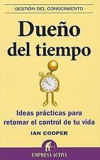 Dueno del tiempo (Gestion del Conocimiento) (Spanish Edition)-ExLibrary