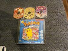 POKEMON MEOWTH EEVEE POKROM LOT GAME PC SOFTWARE CD ROM WINDOWS DISC COMPLETE
