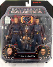 "Diamond Select Toys Battlestar Galactica Tigh & Gaeta 7"" action figure 2 pack"