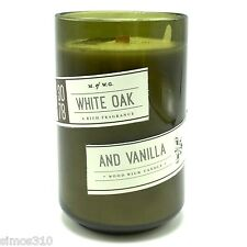 White Oak And Vanilla Scented Candle Wood Wick Makers of Wax Goods