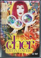 CHER Live In Concert Do You Believe? 1999 MALAYSIA EDITION DVD-9 RARE NEW SEALED