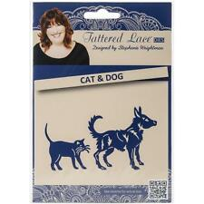 Tattered Lace Dies by Stephanie Weightman ~ Cat & Dog, 137820 ~ NIP