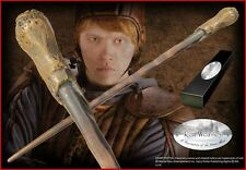 "Ron Weasley Wand 15"" Replica NIB from Harry Potter Movie w/ Brass Name Clip"