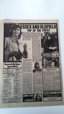 MIKE OLDFIELD Philharmonic concert review 1974 UK ARTICLE / clipping