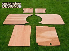 VW T4 Transporter LWB Camper/Day Van Interior Panels / 6mm Ply Lining Trim Kit
