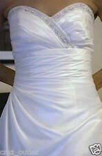 EUC Alfred Angelo WEDDING DRESS- Style #1130 - Size 10 - Strapless - Halloween