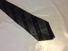 Mens Blue Gray Gold Tie Necktie FIZ~ FREE US SHIP (10223)