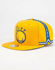 MITCHELL & NESS NBA GOLDEN STATE WARRIORS SNAPBACK HAT/CAP 100% AUTHENTIC NEW!!