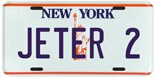 Derek Jeter New York Yankees Rookie 1995 License plate