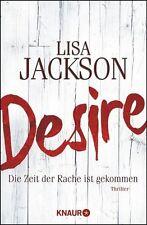 Desire  Lisa Jackson  Thriller Taschenbuch ++Ungelesen++