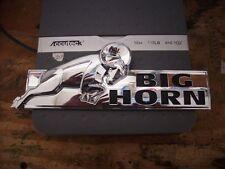 Dodge Ram 1500 2500 3500 Chrome BIGHORN Tailgate Emblem OEM MOPAR 08-15