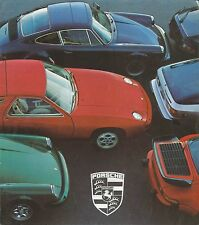 1978 PORSCHE 924 911 SC TURBO 928 PROSPEKT BROCHURE CATALOGUE DEUTSCH