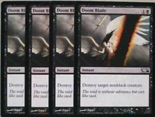 XXX 4x DOOM BLADE englisch magic 2010 M10 (removal black) NEARMINT XXX XXX XXX