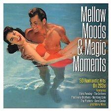 MELLOW MOODS & MAGIC-50 ROMANTIC HITS -  PRESLEY,ELVIS/PATTERS,THE/+  2 CD NEU