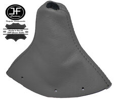 GREY REAL LEATHER FITS AUDI TT MK1 1998-2006 GEAR GAITER SHIFT BOOT COVER