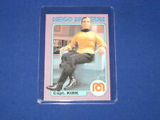 STAR TREK CAPTAIN CAPT. KIRK SHATNER SCI-FI TV SPACE MEGO MUSEUM PROMO CARD