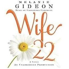 WIFE 22 unabridged audio book on CD by MELANIE GIDEON