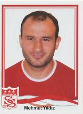 N°375 MEHMET YILDIZ # TURKEY SIVASSPOR STICKER PANINI SUPERLIG 2011