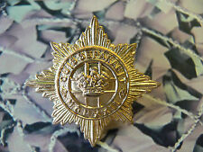 4th / 7th Dragoon Guards Cap Badge Gold Coloured