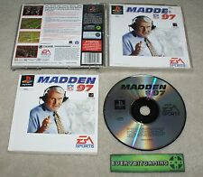 Madden NFL 97 - Playstation One Game PS1 PS2 PS3 - PAL complete