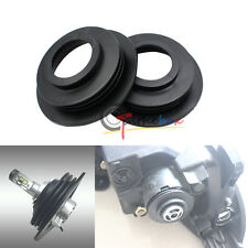 Universal Large Opening Rubber Dust Cover Seal Caps: Headlamps Install LED Bulbs