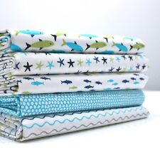 FQ Bundle - Tiddlers & Whoppers Fish x 5 - Fat Quarter - Cotton Fabric Patchwork