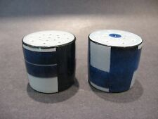 Royal Copenhagen Tenera Aluminia Fajance Salt and Pepper Scandinavian Pottery