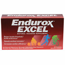 PacificHealth-Laboratories Endurox Excel 60 Caps Natural Training Supplement