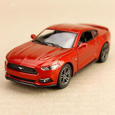 2015 Toffee Ford Mustang GT Sports Car Collectible Model Detailed 1:38 Die-Cast