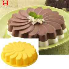 New Silicone Kitchen Round Bread Cake Chocolate Pizza Mold Baking Pan