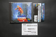 REAL BOUT 2 Fatal Fury - SNK NeoGeo CD Very Good Condition + Spine Card