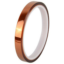 10mm x 30M High Temperature Heat Resistant Polyimide Kapton Tape