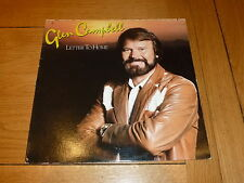 GLEN CAMPBELL - Letter to home - 1984 UK 10-track vinyl LP