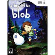 A Boy And His Blob Wii Game