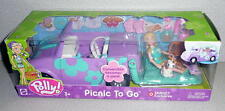 Mattel Polly Pocket PICNIC TO GO Car & Doll Set Target Exclusive  *NRFB 2003