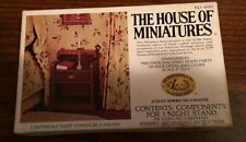 1/12 CHIPPENDALE NIGHT STAND KIT #40012 THE HOUSE OF MINIATURES NEW SEALED