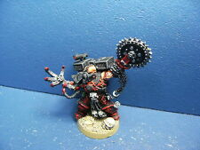 General mit Sprungmodul der Chaos Space Marines UMBAU TOP BEMALT